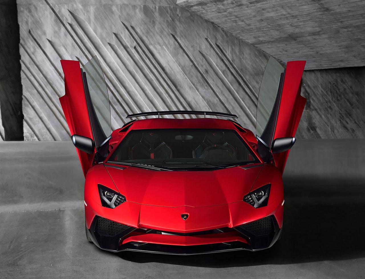 Lamborghini presenterar Aventador LP750-4 SuperVeloce
