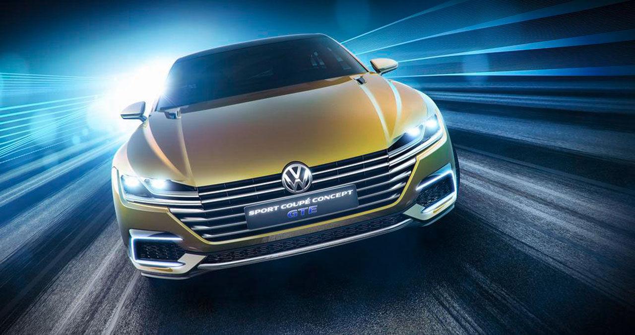 Volkswagen visar Sport Coupé Concept GTE