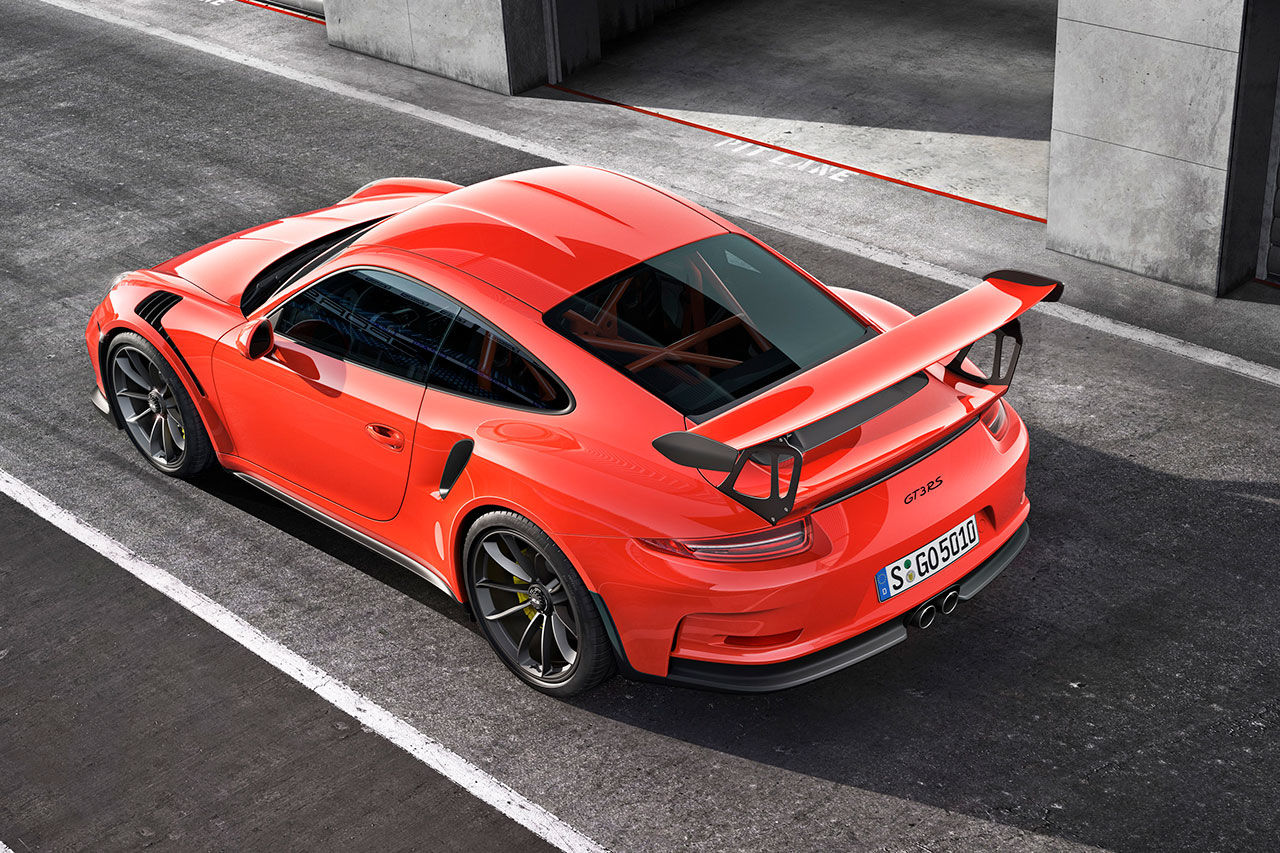 Porsche presenterar nya 911 GT3 RS