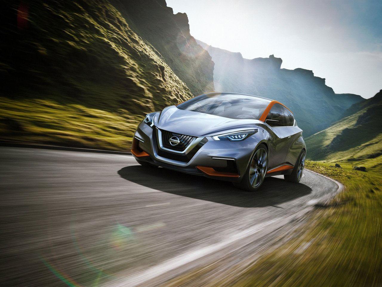 Det här är Nissans nya konceptbil Sway