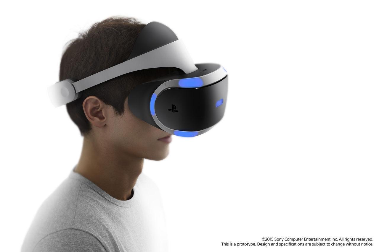 Sony visar upp ny Project Morpheus-prototyp
