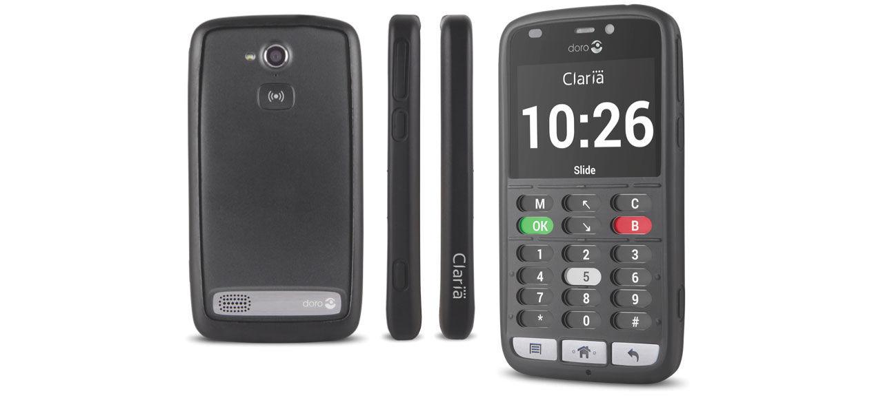 Doro lanserar mobiltelefoner för synskadade