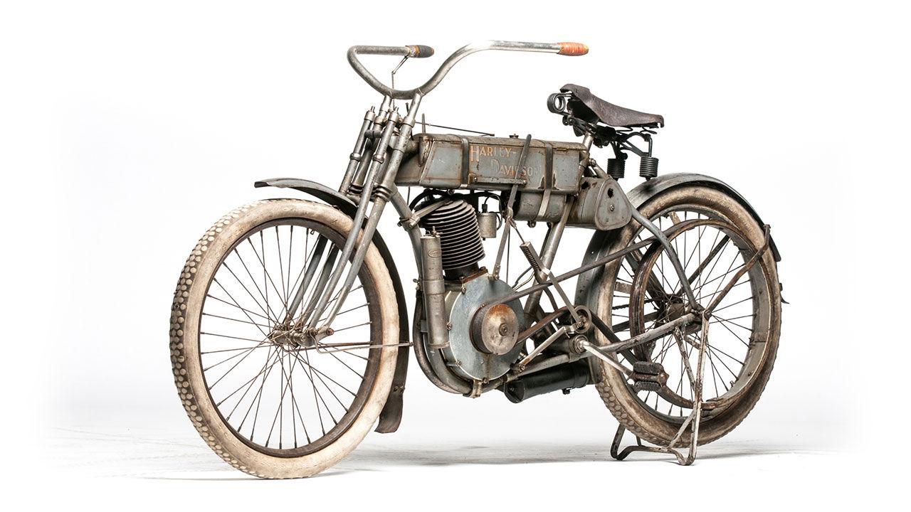 Harley från 1907 väntas gå för 1 miljon dollar