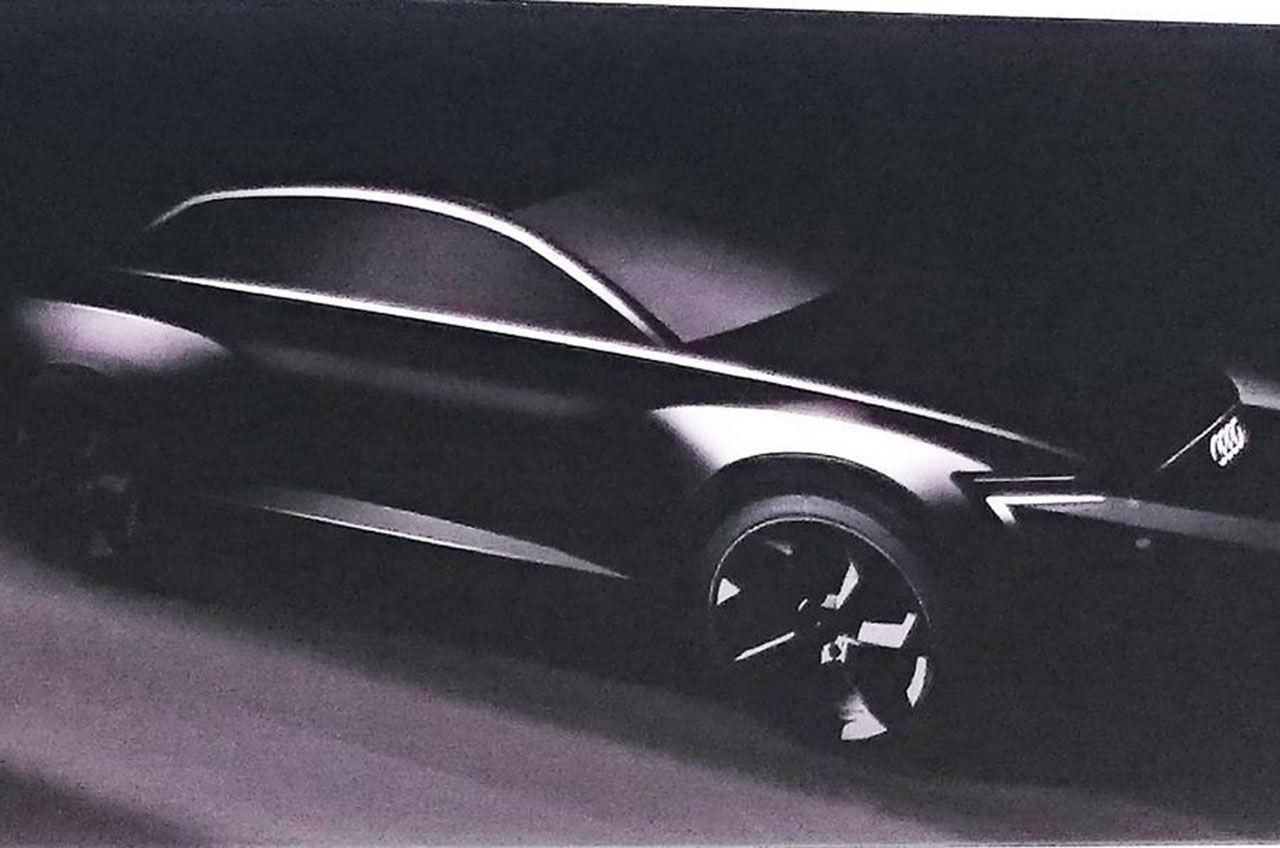 Audi teasar eldrivna Q6