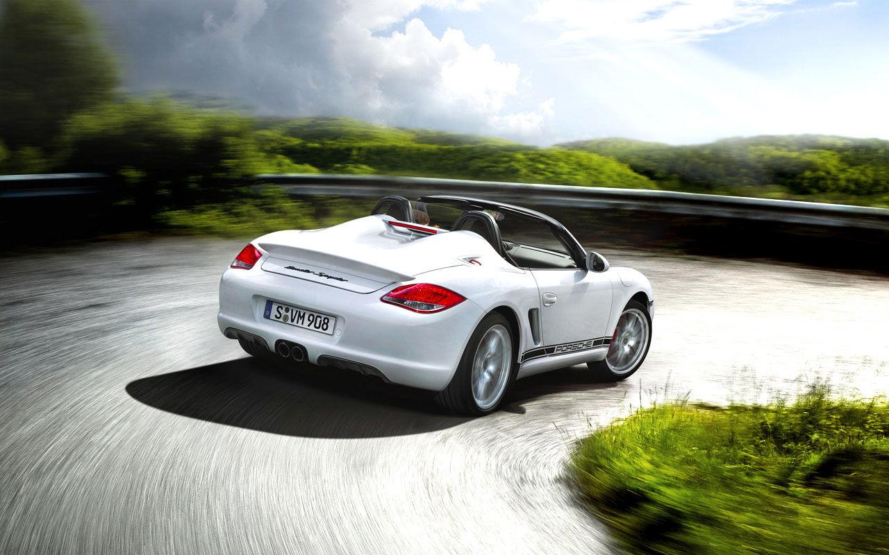 Ny Porsche Boxster Spyder bekräftad