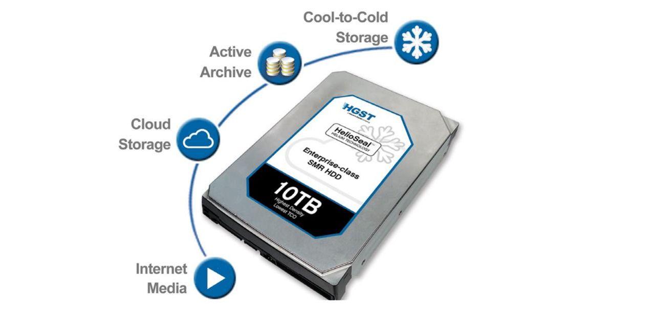 HGST visar hårddisk på 10 terabyte