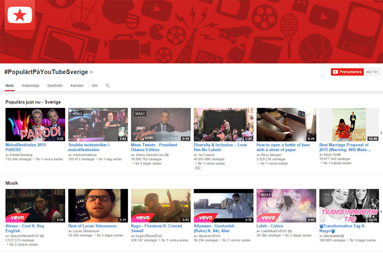 Youtube ryktas dra igång med prenumerationer