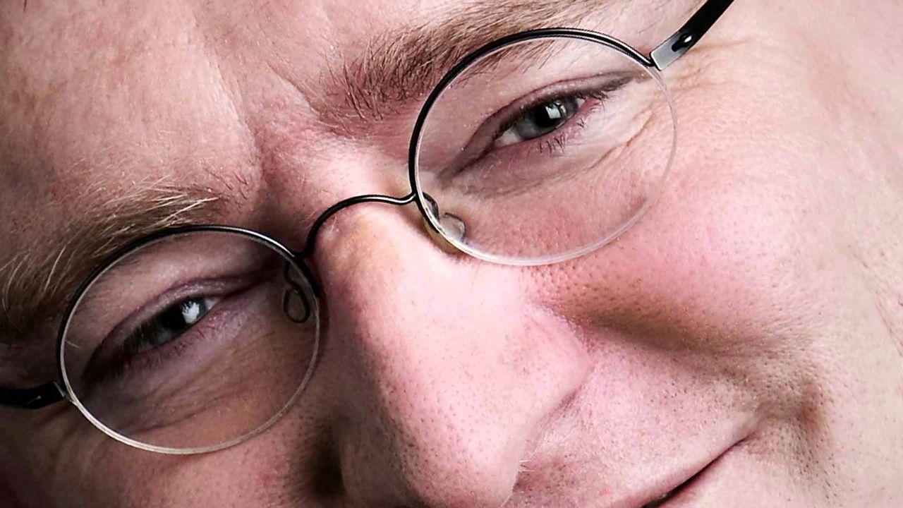 Geoff Keighley pratar med Gabe Newell