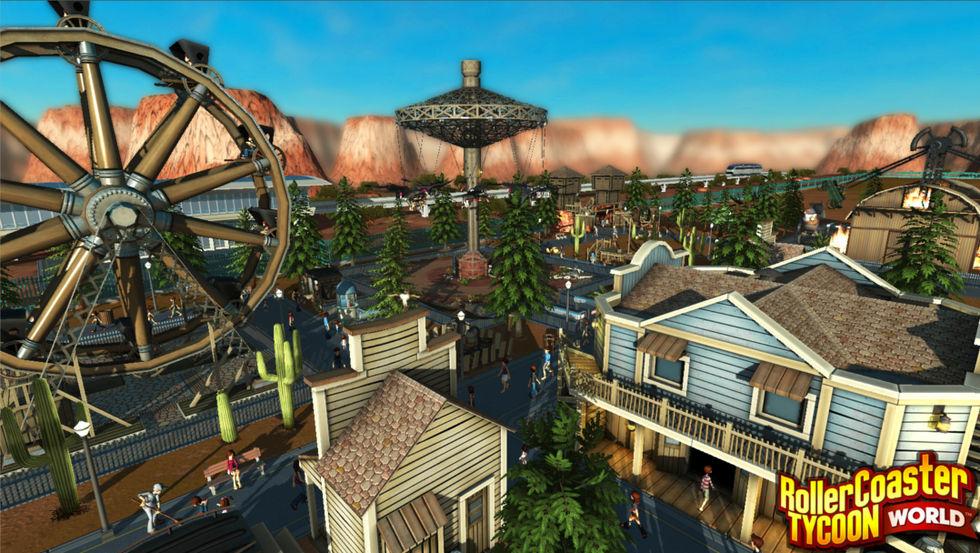 Area 52 Games lovar bättre grafik för RollerCoaster Tycoon World