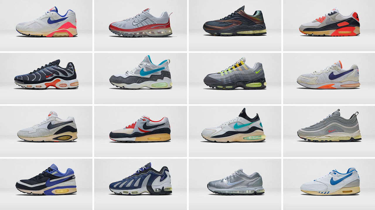 I dag fyller Nike Air Max-familjen 28 år