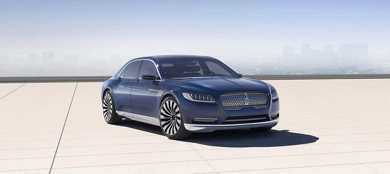 Lincoln visar ny Continental i konceptutförande