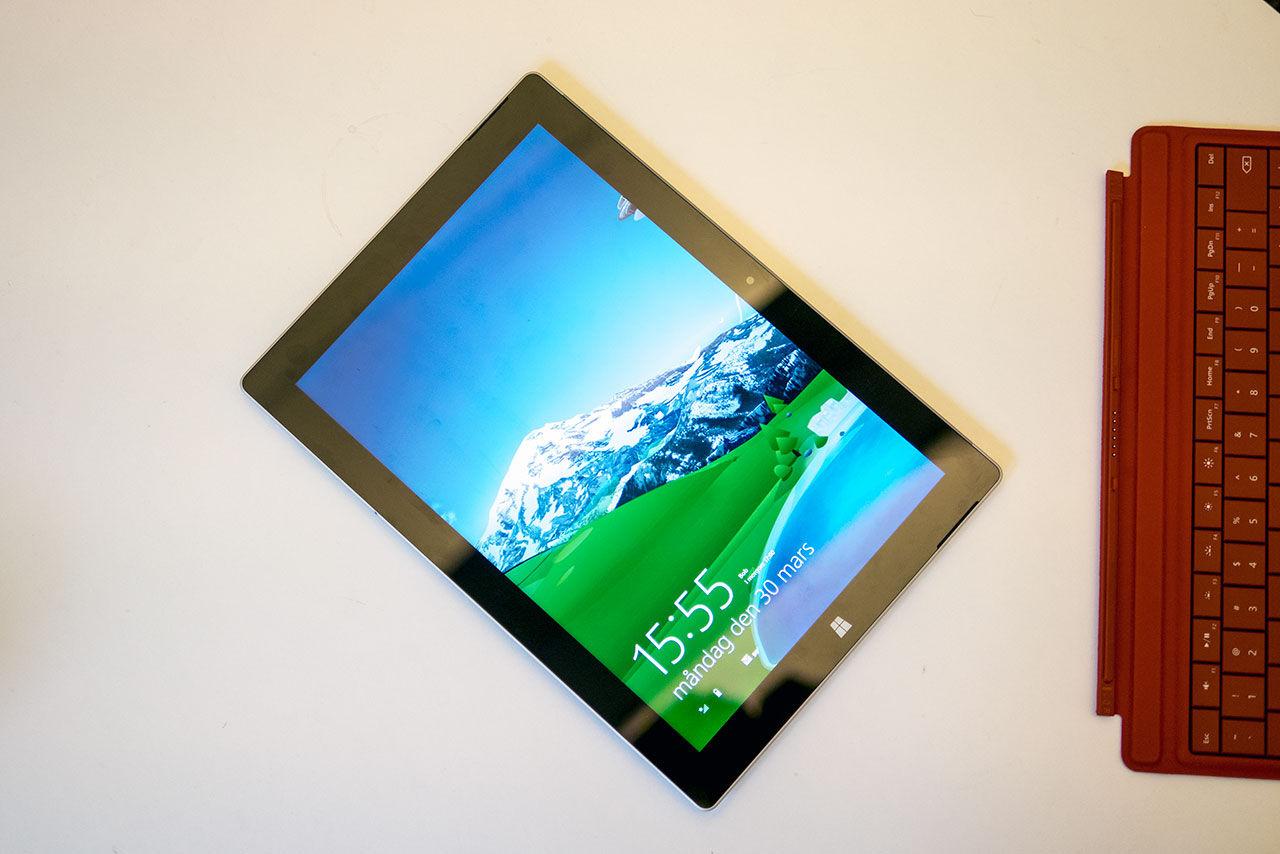 Microsoft utannonserar Surface 3