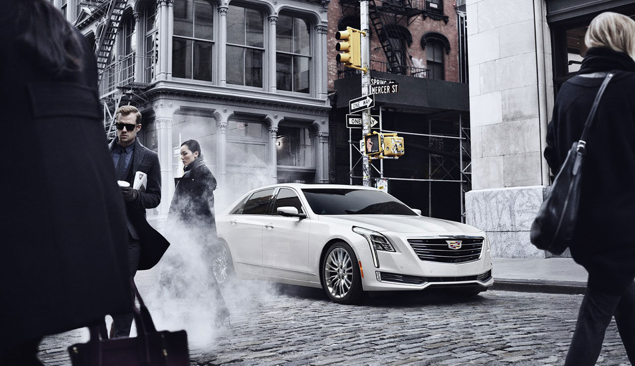 Cadillac drar täcket av CT6
