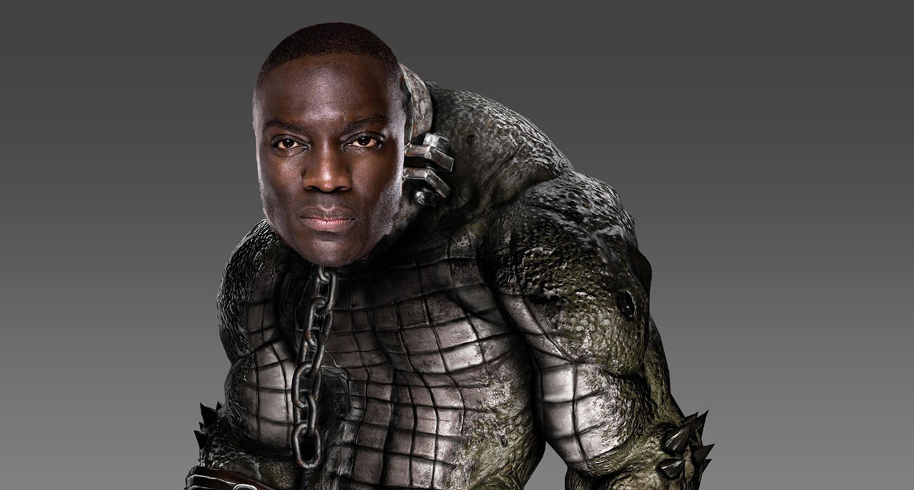 Adewale Akinnuoye-Agbaje blir Killer Croc i Suicide Squad
