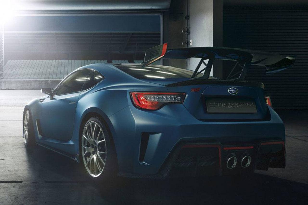Subaru visar mer produktionsklar version av BRZ STI