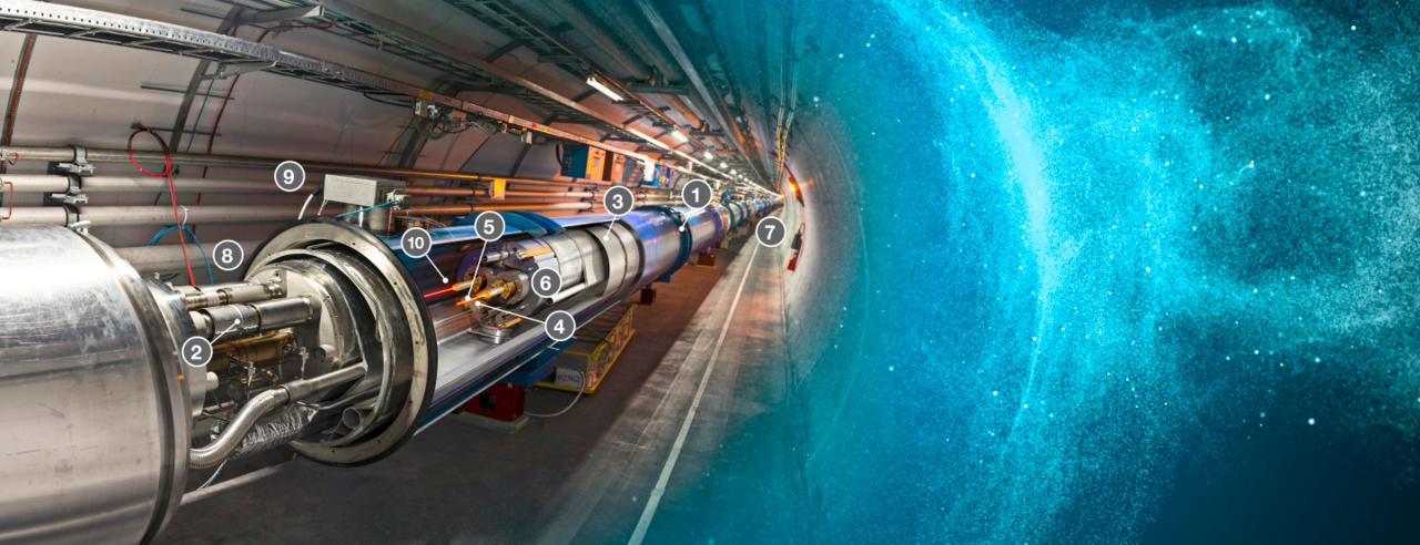 Large Hadron Collider igångsatt igen