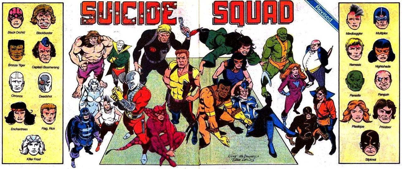 Suicide Squad-gänget samlat