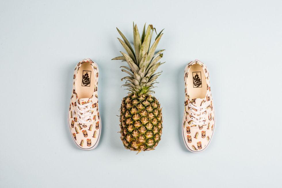 Vans med ananas på