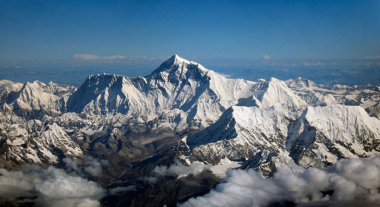 Kina vill bygga en järnväg genom Mount Everest