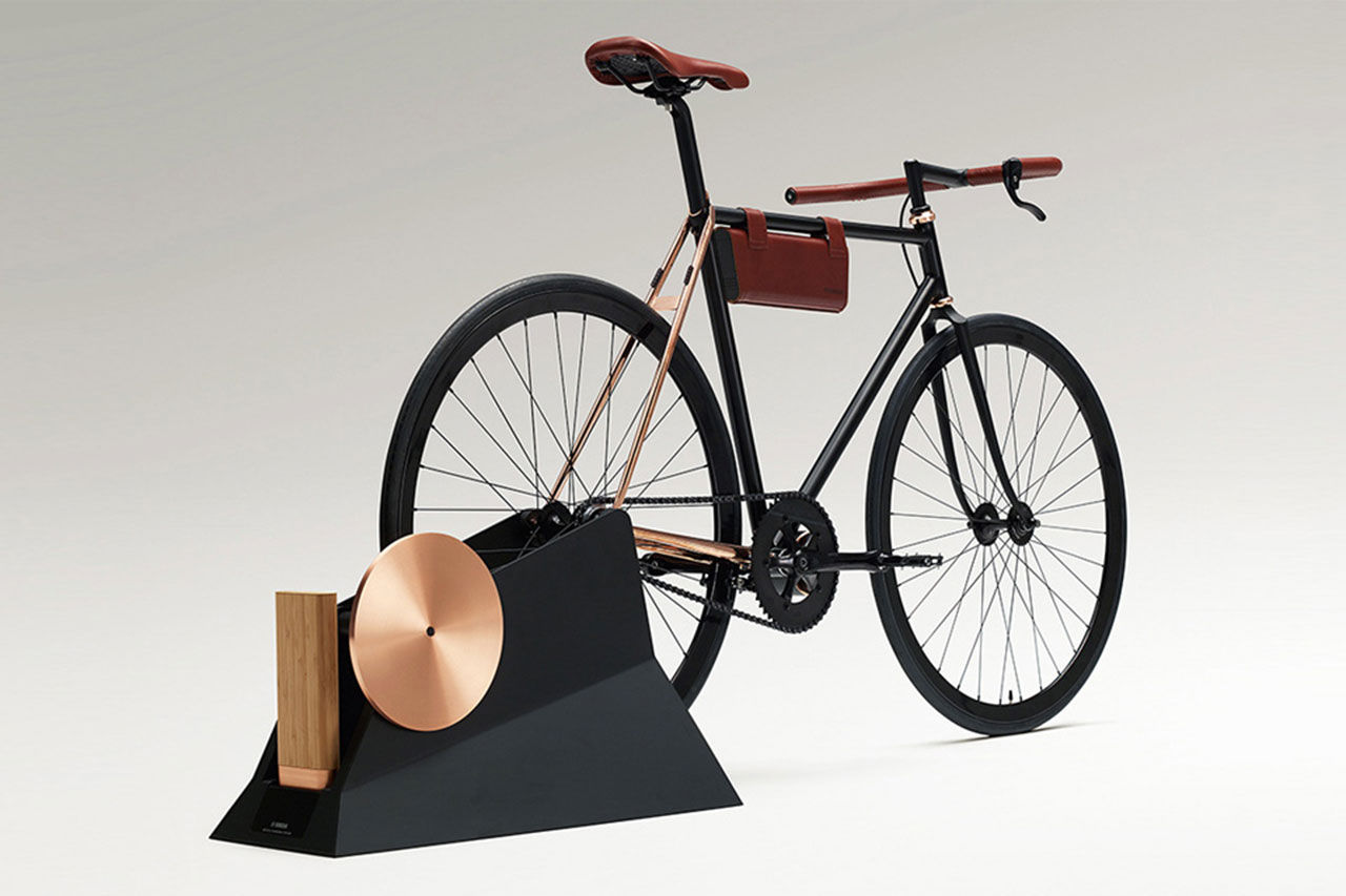 Cykel vars batteripack du laddar genom att cykla
