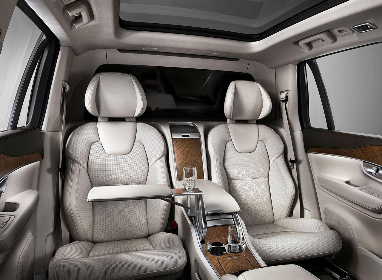 Volvo presenterar XC90 Excellence