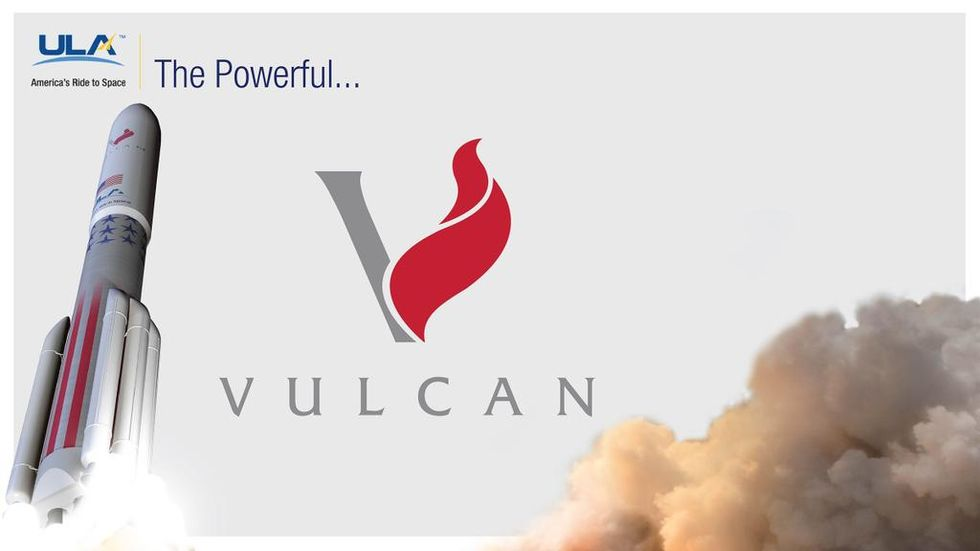 United Launch Alliance raket kommer att heta Vulcan