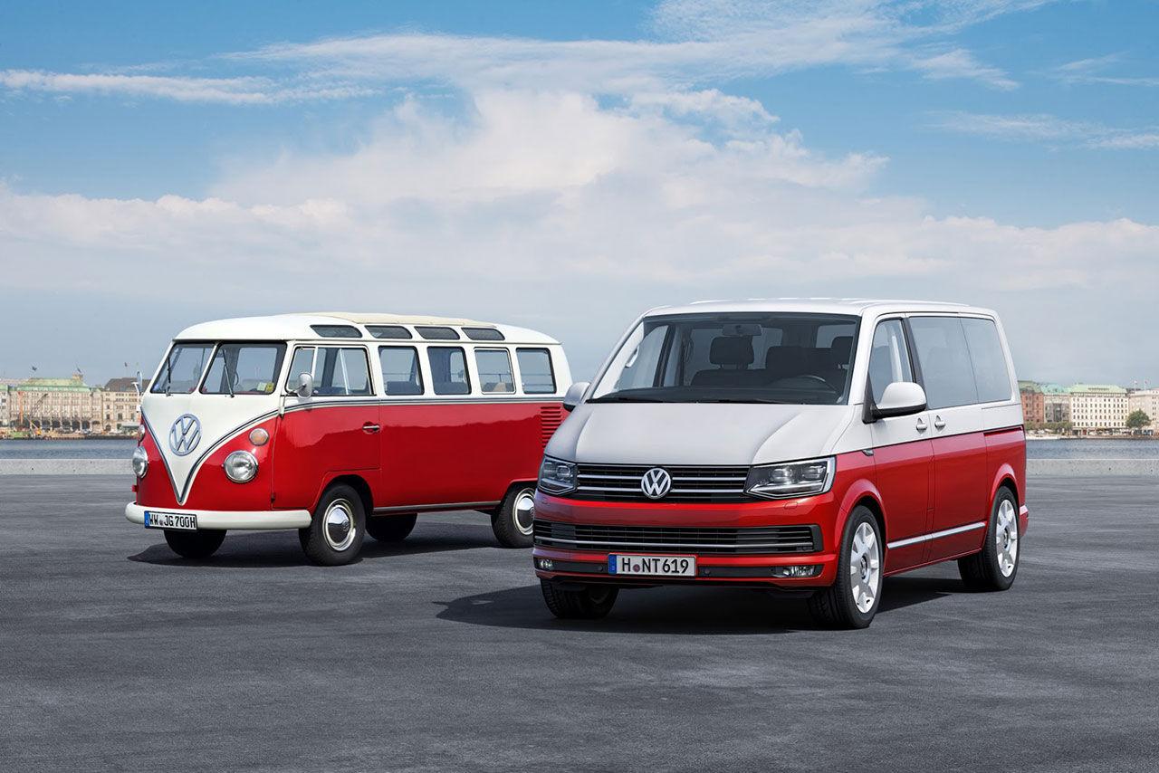 Volkswagen presenterar Transporter T6