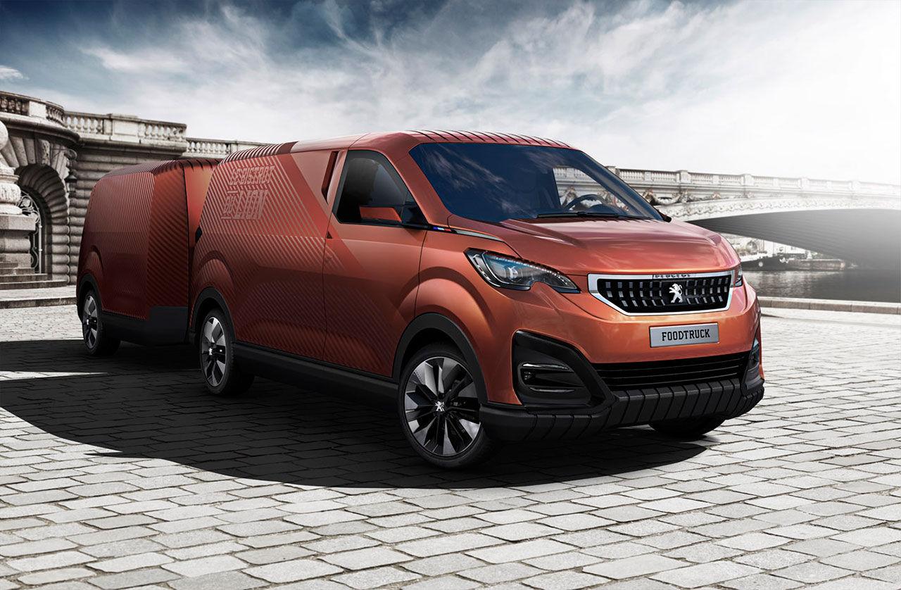 Peugeot gör en modern food truck