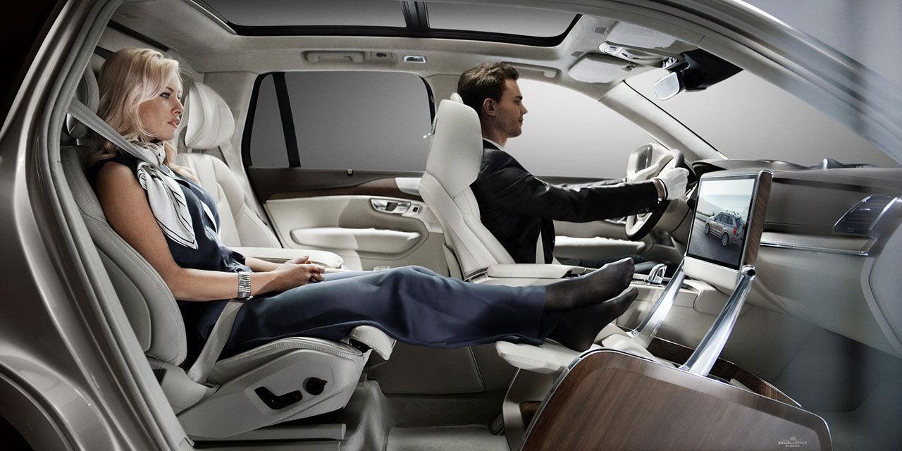 Volvo förvandlar XC90 till lounge