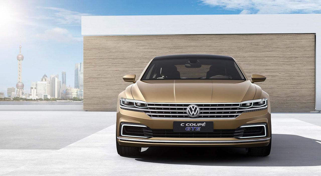 Volkswagen visar C Coupe GTE Concept
