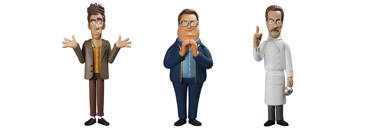 Seinfeldkaraktärer som actionfigurer
