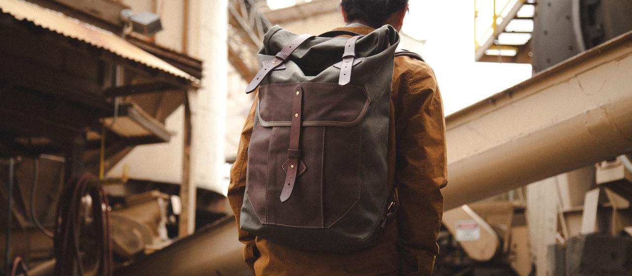 Snygg ryggsäck från Tanner Goods