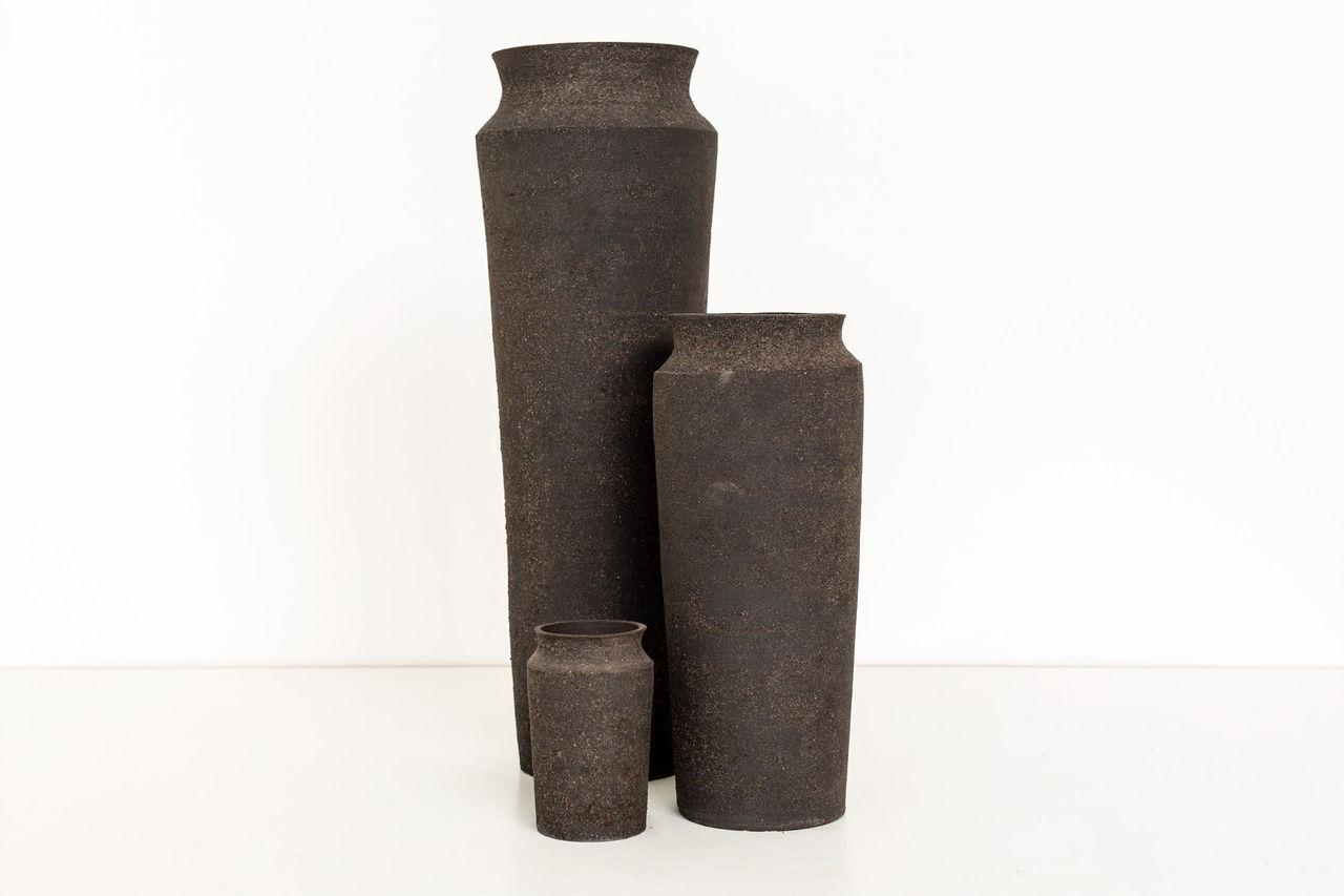 Vaser av mobilrester