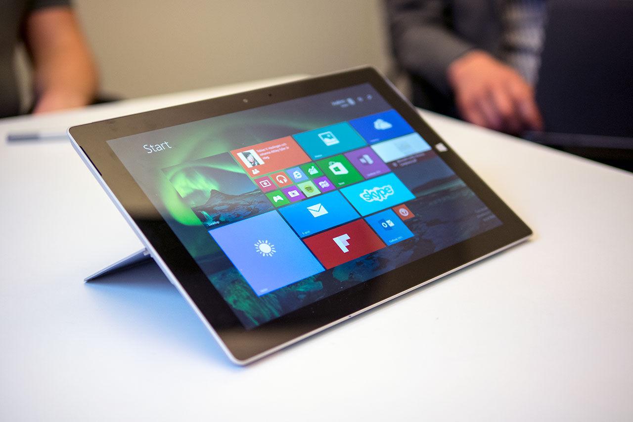 Nu har vi fått in Microsoft Surface 3