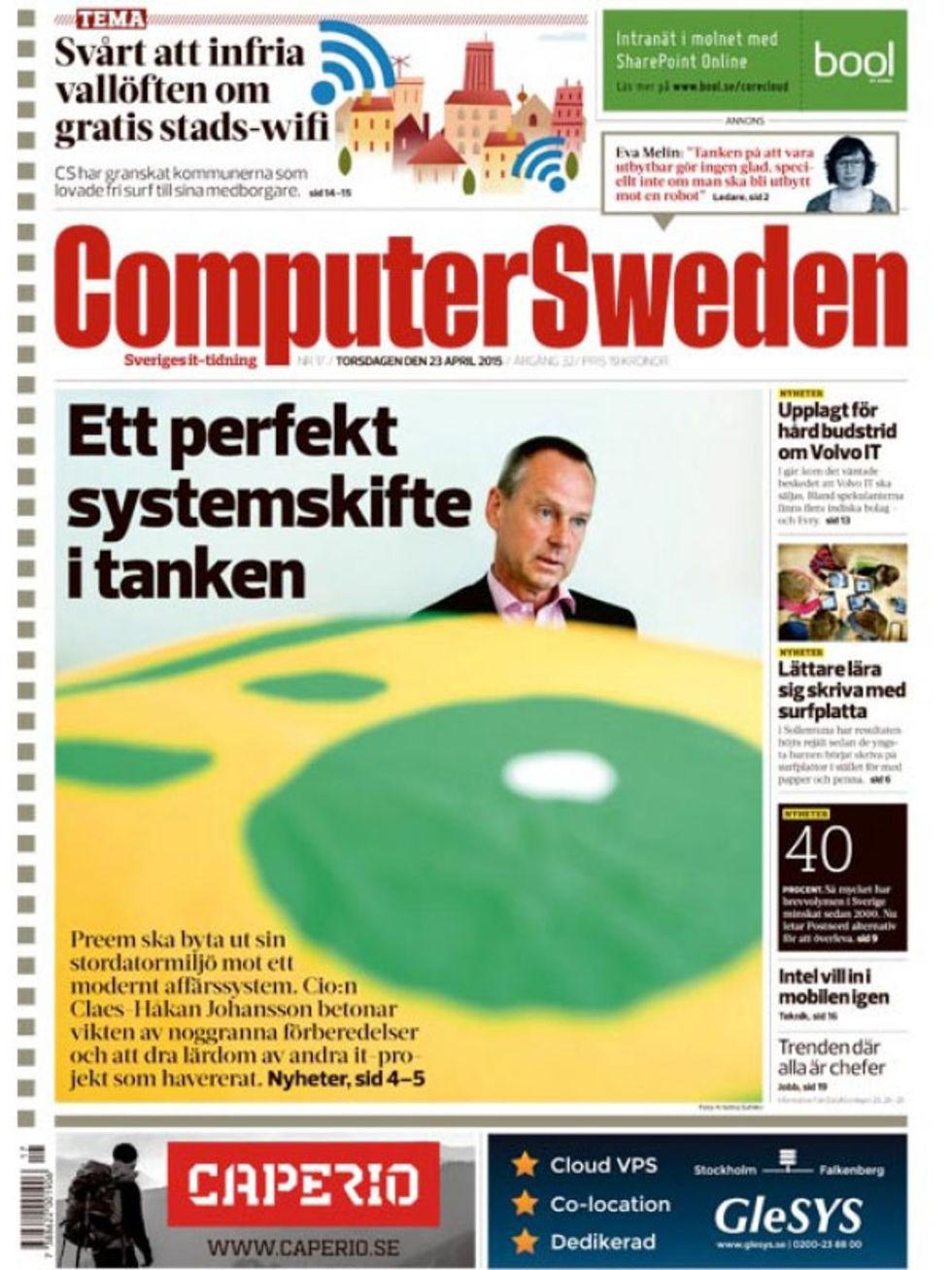 Pappersversionen av Computer Sweden försvinner