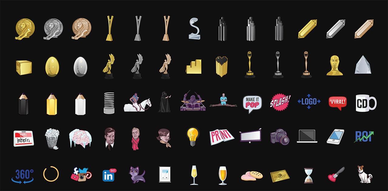 Emojis för reklamare