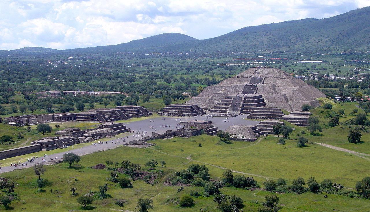 Flytande kvicksilver hittat i mexikansk pyramid