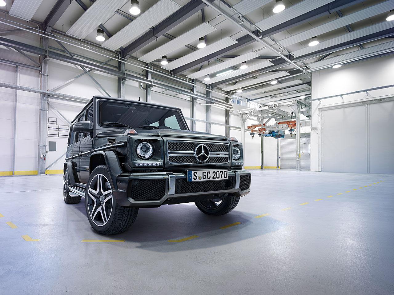 Mercedes kramar ut det sista ur Geländewagen
