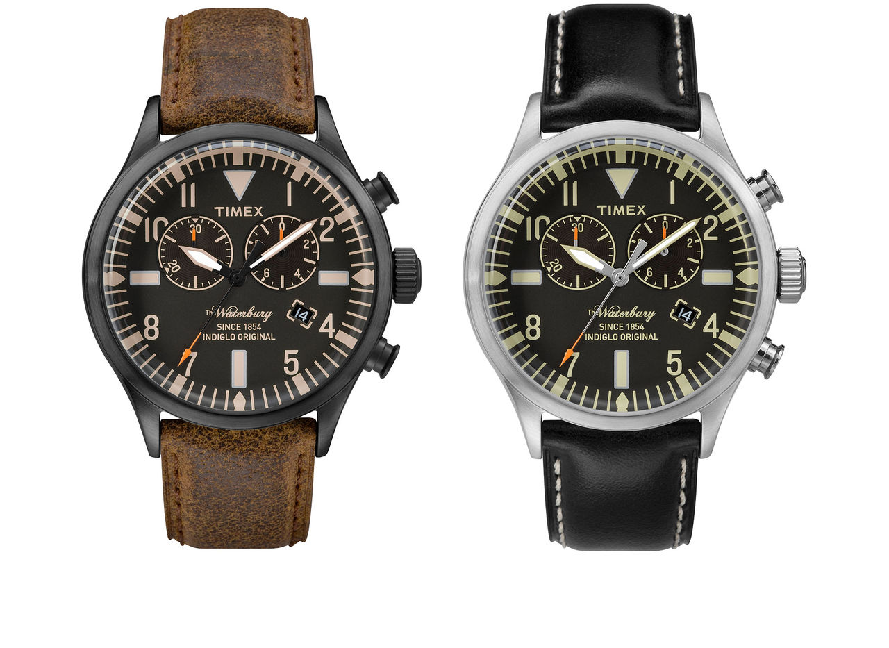 Timex utökar sin Waterburyserie