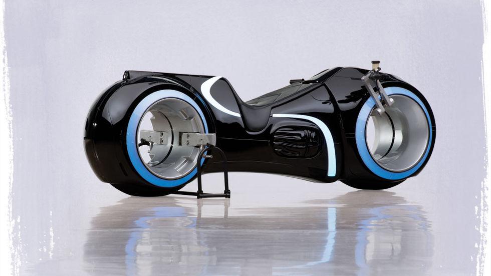 TRON-motorcykel såld för 640.000 kronor