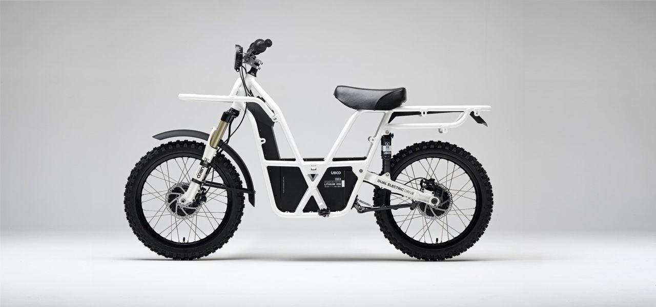 Elcykel med tvåhjulsdrift för offroad-körning