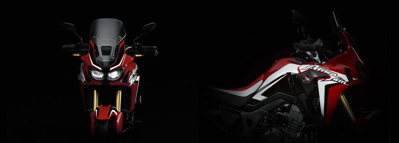 Första bilderna på nya Honda Africa Twin