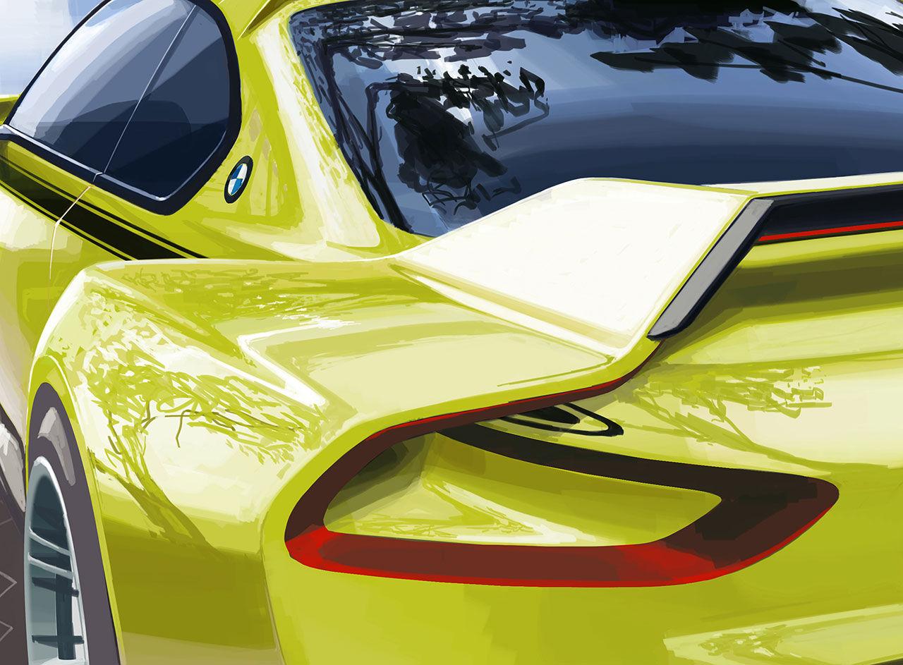 BMW hyllar ikonen E9 3.0 CSL
