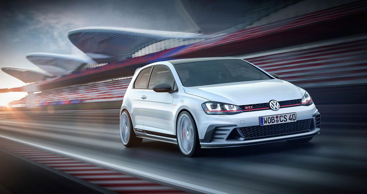 Volkswagen presenterar Golf GTI Clubsport Concept