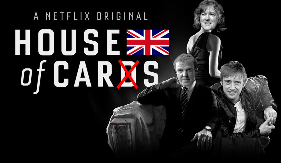 House of Cars namnet på Top Gear-trions nya show?