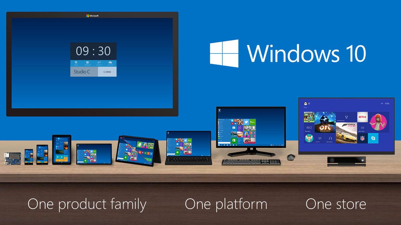 Windows 10 kommer i sex utgåvor