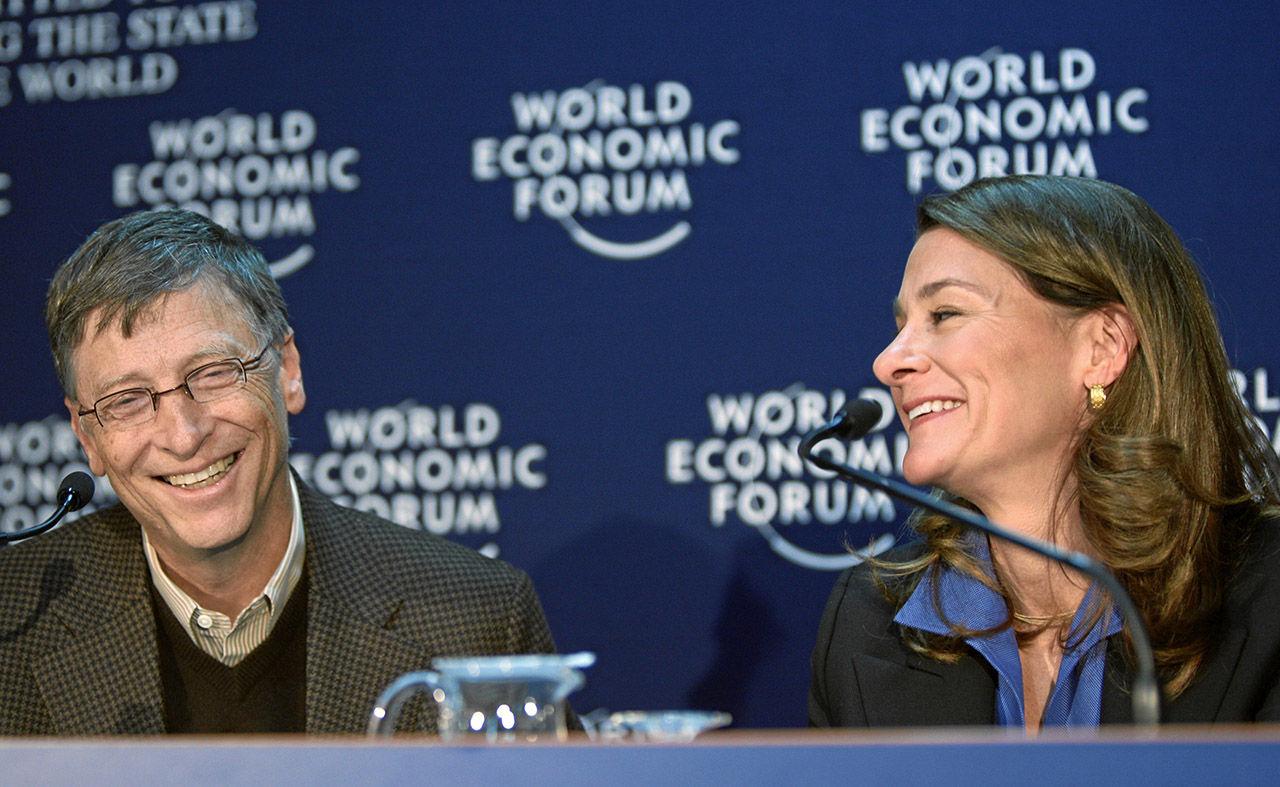 Bill Gates mamma övertalade honom att börja ge bort sina pengar