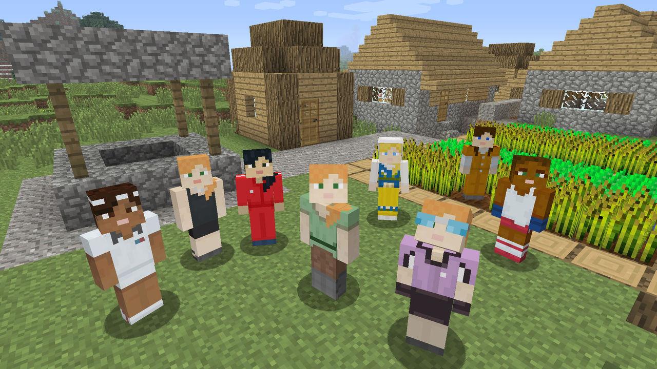 Mojang kritiseras för bristen på kvinnliga karaktärer i Minecraft