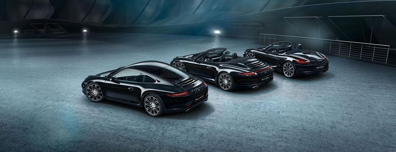 Porsche går över till den mörka sidan