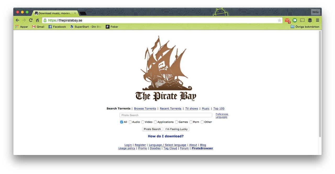 The Pirate Bay blir av med ThePirateBay.se
